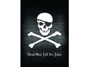 Max Protection Double Matte Image Card Sleeves (Standard; 50/pk) - Pirate Flag