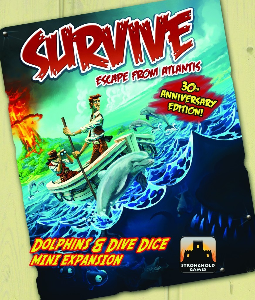 Survive: Escape from Atlantis! 30th Anniversary Edition: The Dolphins and Dive Dice Expansion