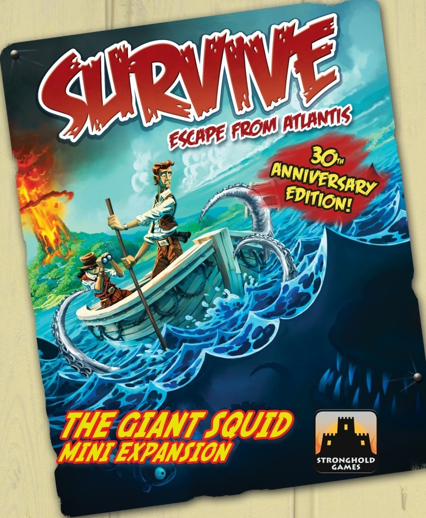 Survive: Escape from Atlantis! 30th Anniversary Edition: The Giant Squid Expansion