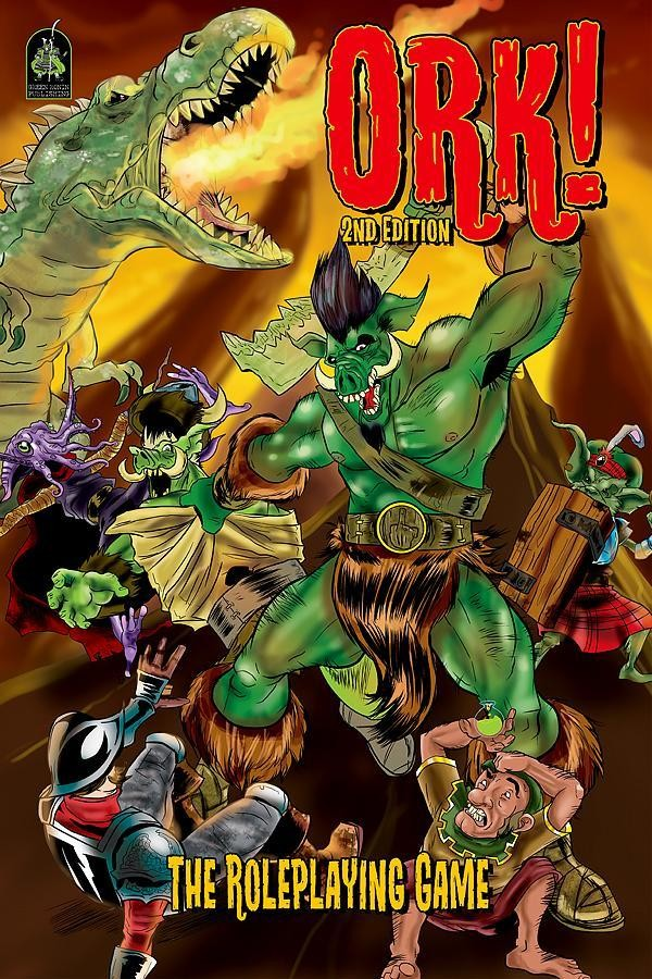 Ork! The Roleplaying Game, Second Edition