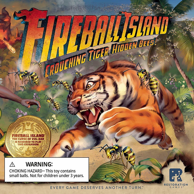 Fireball Island: Crouching Tiger, Hidden Bees! Expansion