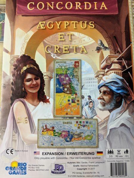 Concordia: Aegyptus et Creta Expansion