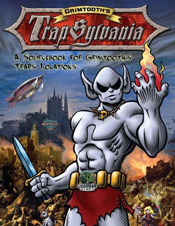 Grimtooth's Trapsylvania: A DCC RPG Sourcebook (softcover)