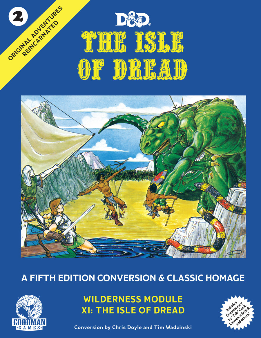 D&D 5th Edition Original Adventures Reincarnated #2: The Isle of Dread