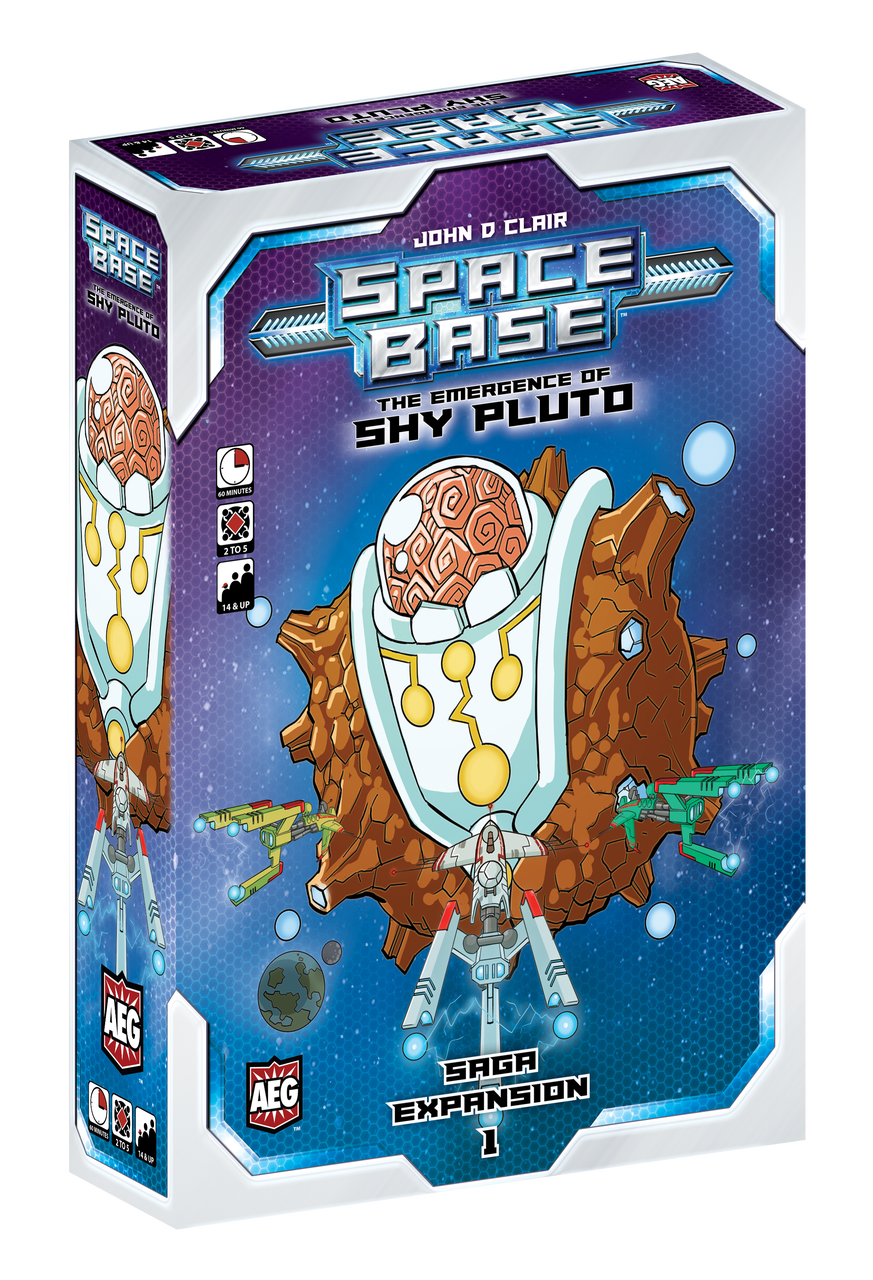 Space Base: Saga Expansion 1 - The Emergence of Shy Pluto