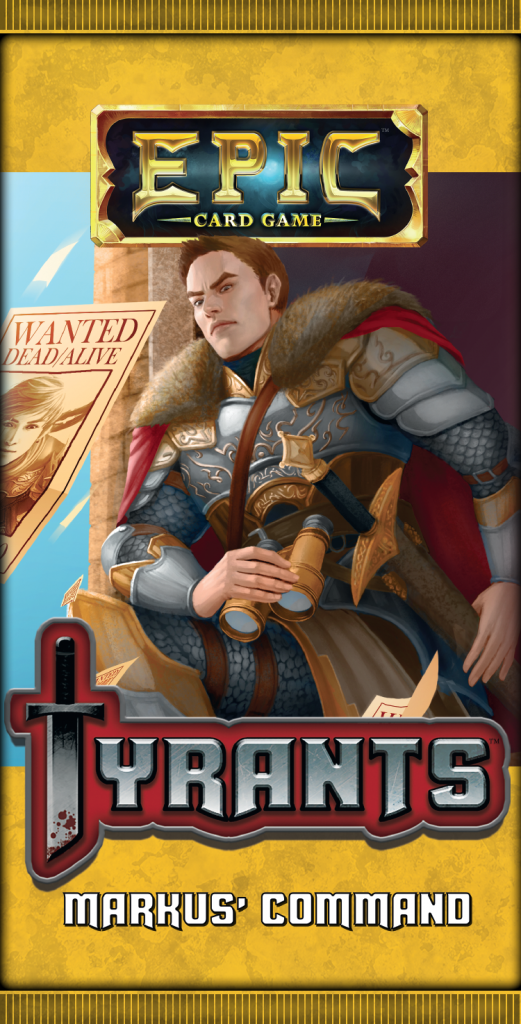 Epic Card Game: Tyrants Expansion Pack - Markus' Command