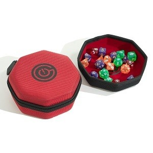 Dice Case & Tray - Red