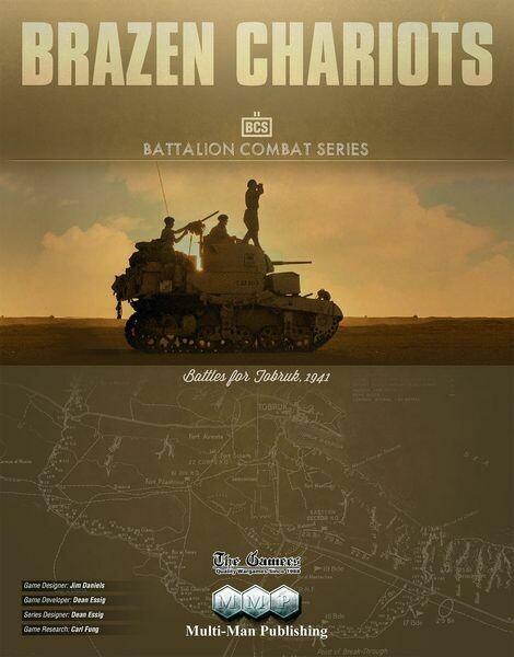 Brazen Chariots: Battles for Tobruk, 1941