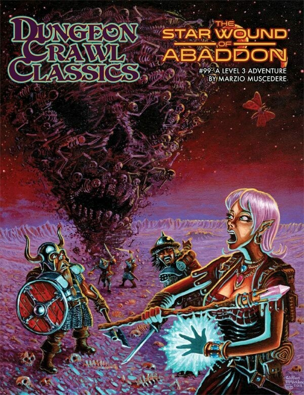 Dungeon Crawl Classics RPG Adventure #99 (L3) - The Star Wound of Abaddon