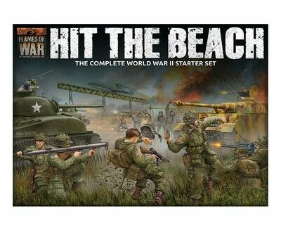 Flames of War: Hit the Beach - The Complete WWII Starter Set