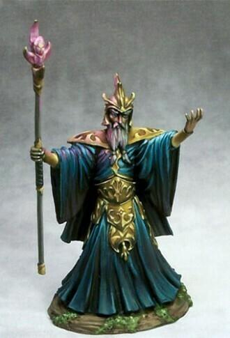 Visions in Fantasy: Evil Male Wizard (Evil Mage)
