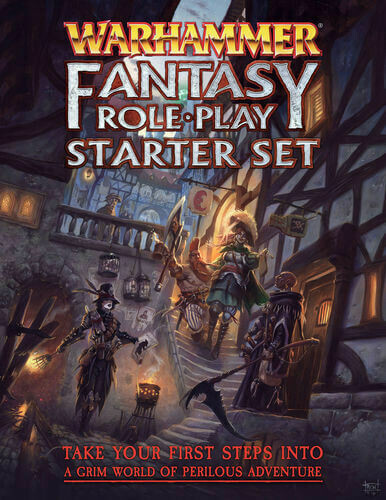 Warhammer Fantasy Role Play: Starter Set, 4th Edition (DING/DENT-Light)