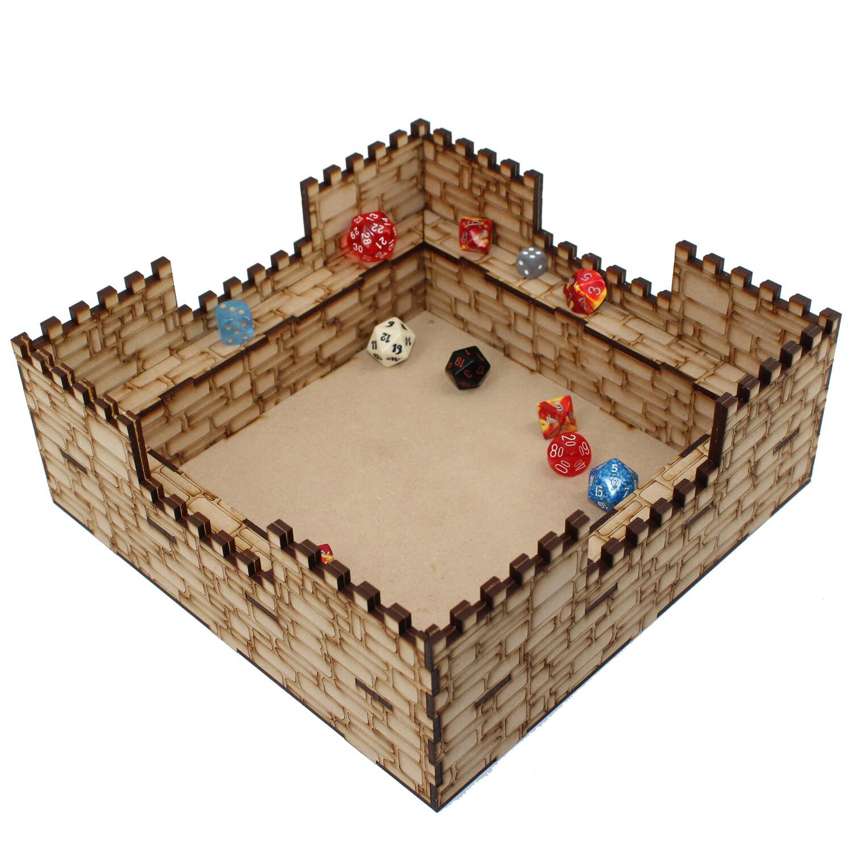 Castle Dice Tray