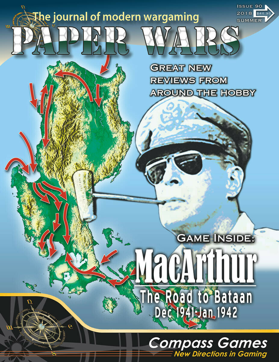 Paper Wars: MacArthur - The Road to Bataan, Dec 1941 - Jan 1942