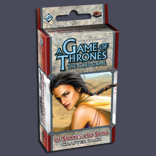 A Game of Thrones: Of Snakes and Sand Chapter Pack