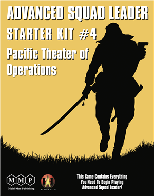 Advanced Squad Leader: Starter Kit #4 - Pacific Theater of Operations