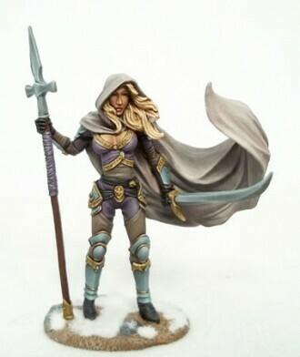 Visions in Fantasy: Female Undead Hunter