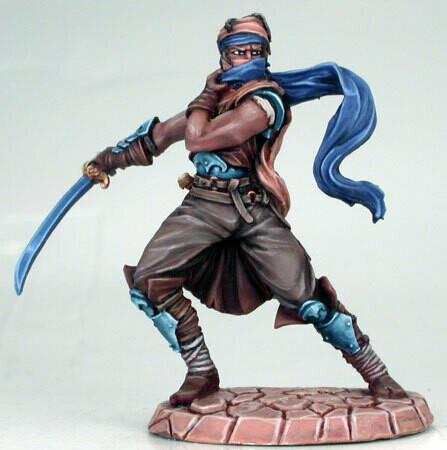 Visions in Fantasy: Male Assassin