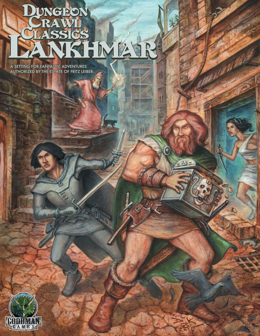 Dungeon Crawl Classics Lankhmar Boxed Set (DING/DENT-Very Light)