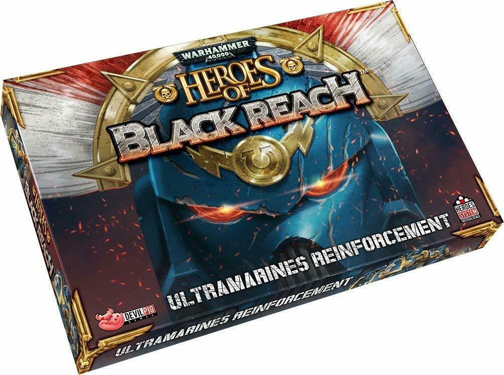 Warhammer 40,000: Heroes of Black Reach - Ultramarines Reinforcements