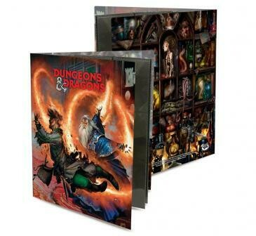 Dungeons & Dragons Character Folio - Wizard