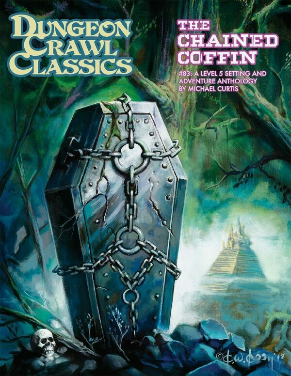 Dungeon Crawl Classics RPG Adventure #83 (L5) - The Chained Coffin (HC)