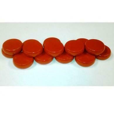 Crokinole: Standard Wood Discs (14) - Red
