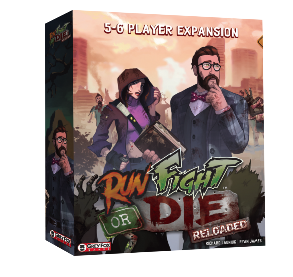 Run Fight or Die: Reloaded - 5-6 Player Expansion
