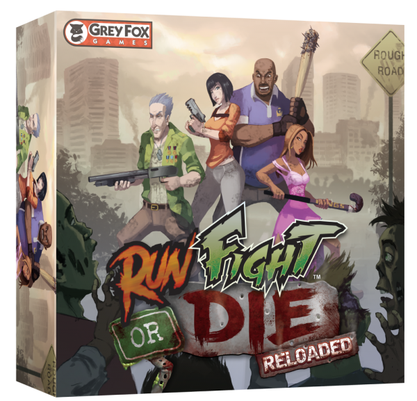 Run Fight or Die: Reloaded (Core Game) (DING/DENT-Light)