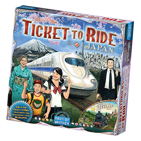 Ticket to Ride Map Collection Volume 7: Japan and Italy