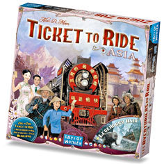 Ticket to Ride Map Collection Volume 1: Asia