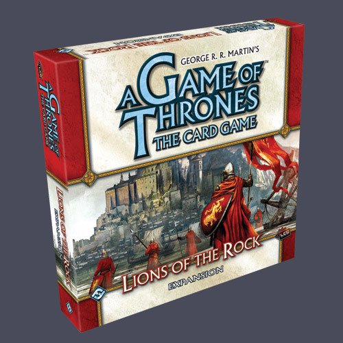 A Game of Thrones: Lions of the Rock Deluxe Expansion