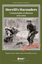 Merril's Marauders: Commandos in Burma 1943-1944 (Solitaire)