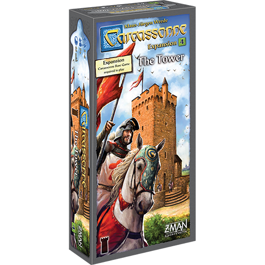 Carcassonne: The Tower - Expansion #4