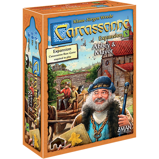 Carcassonne: Abbey & Mayor - Expansion #5