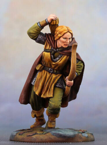 Visions in Fantasy: Female Ranger with Bow