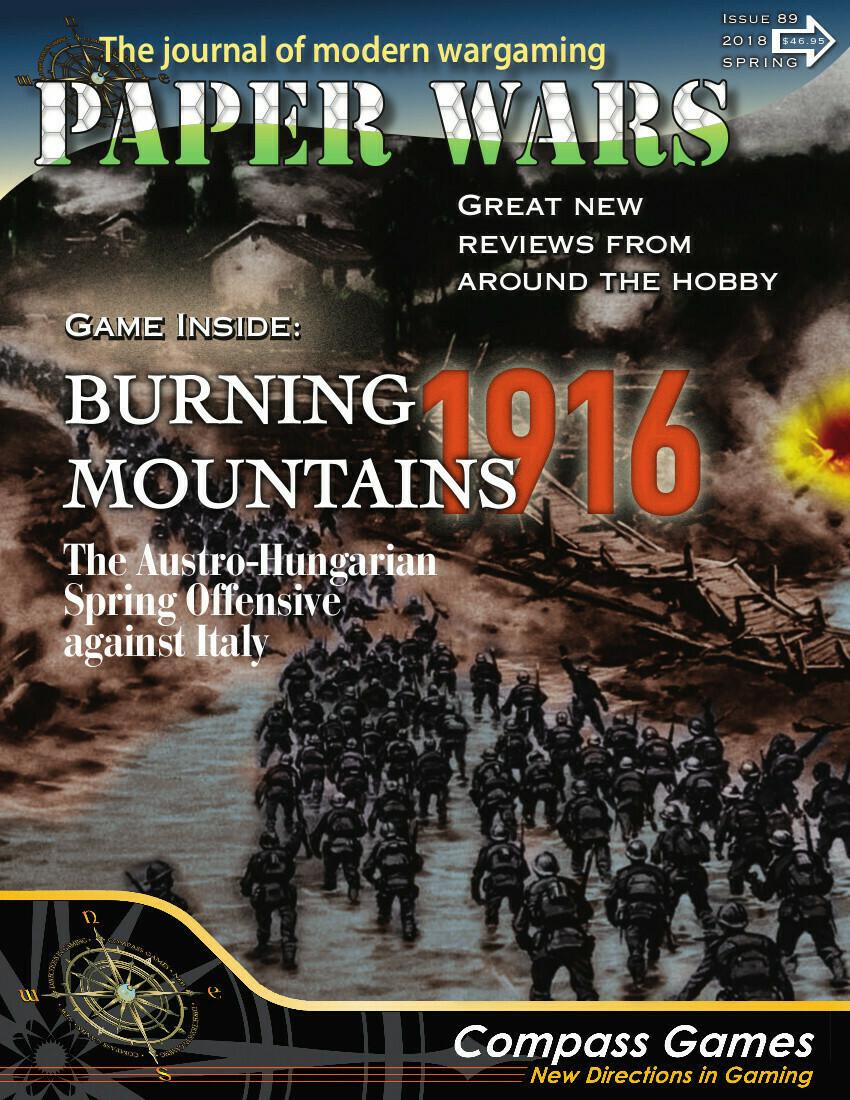 Paper Wars: Burning Mountains
