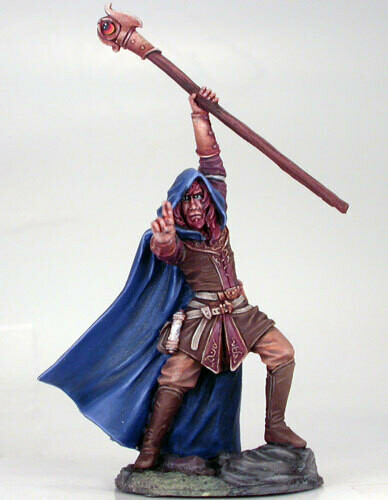 Visions in Fantasy: Male Mage with Staff