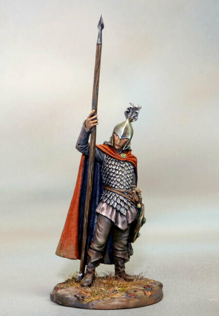 Visions in Fantasy: High Elf Warrior with Spear