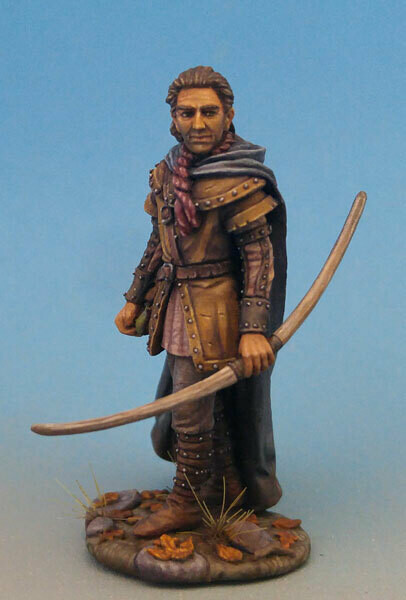 Visions in Fantasy: Male Ranger with Long Bow