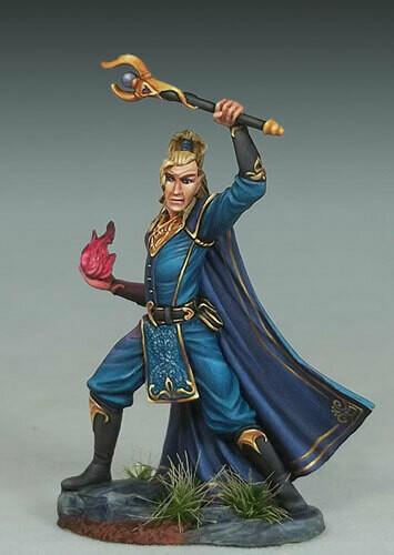 Visions in Fantasy: Elven Warlock