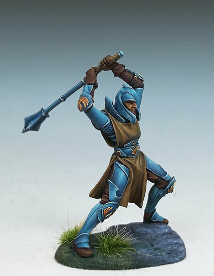 Visions in Fantasy: Male Cleric with Two-Handed Mace
