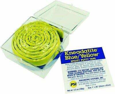 Kneadatite Blue/Yellow (