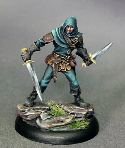 Visions in Fantasy: Male Dual Wield Rogue