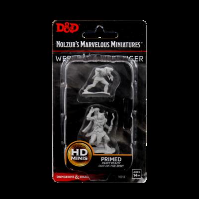 D&D: Nolzur's Marvelous Miniatures - Wererat & Weretiger