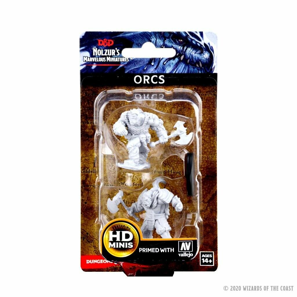 D&D: Nolzur's Marvelous Miniatures - Orcs