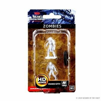 D&D: Nolzur's Marvelous Miniatures - Zombies
