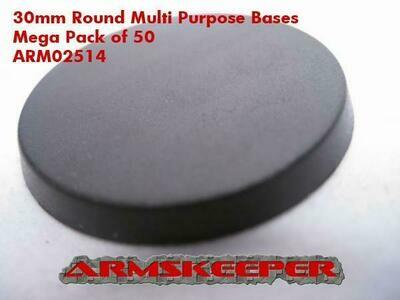 Armskeeper: 30mm Round Base Mega Pack (50)