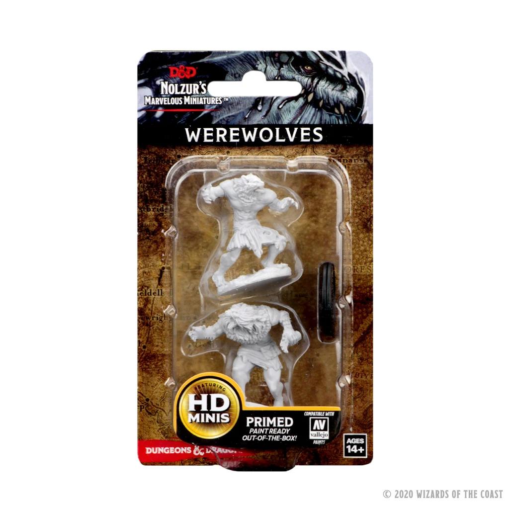 D&D: Nolzur's Marvelous Miniatures - Werewolves
