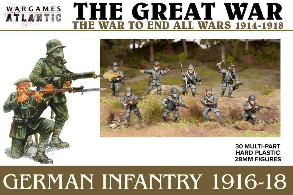The Great War: German Infantry 1916-18